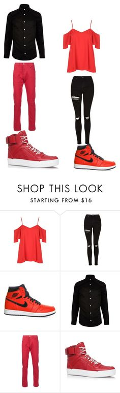"""""""Untitled #283"""" by kassidyrobinson on Polyvore featuring Topshop, NIKE, River Island, 3x1 and Gucci"""