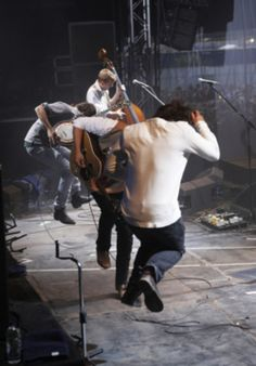"""gomumfordandsons: """" When in doubt, stomp it out. ;) aahh """" I have a serious soft spot for epic stomping. Gives me chills everytime."""