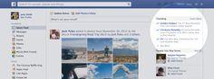 Facebook、話題になっているトピックを表示する「Trending」機能を追加