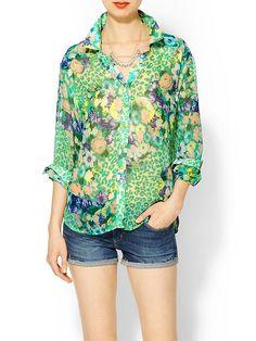 Floral é a tendência do verão 13/14  #floral #blouse #blusa #verao #dress #tshirt #fashion #moda #streetstyle #urbanstyle #casualstyle #urban #street #casual #feminino #feminina #woman #women #mulher #moderna #modern