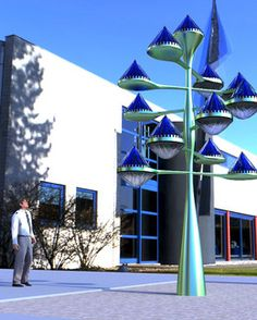 Are These Spinning Blue Cones The Solar Panels Of The Future? | Co.Exist: World changing ideas and innovation