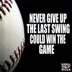 How much do you think you know about the sport of baseball? Even the greats can always learn a thing or two about how to better their game. Softball Quotes, Softball Mom, Sport Quotes, Softball Stuff, Baseball Motivational Quotes, Volleyball, Softball Coach, Fastpitch Softball, Baseball Crafts