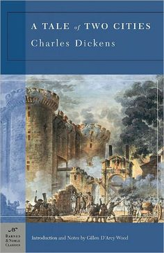 Charles Dickens. A Tale of Two Cities. So rich!
