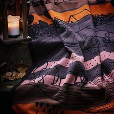 Soft cotton blanket design by Anette Carlsson Moberg/Patternplan