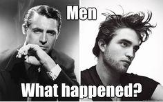 Men: what happened?