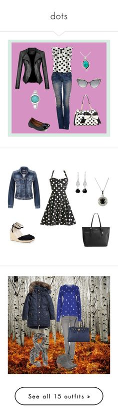 """""""dots"""" by liliana-vaccara ❤ liked on Polyvore featuring Miss Sixty, Merona, Betsey Johnson, NOVICA, Nine West, Jimmy Choo, maurices, Oasis, Fiorelli and Cheap Monday"""
