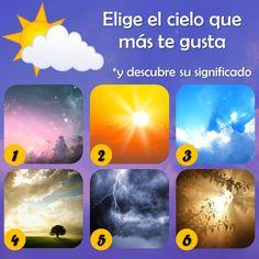 DE TODO UN POCO: Observa las imágenes del cielo y elige inmediatame...