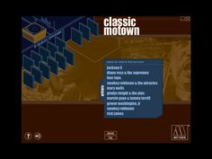 A super old CD-ROM I designed & built for UMG's foray into digital music, for Motown Records. Brandon Bell, Rick James, Gladys Knight, Smokey Robinson, Four Tops, Jackson 5, Diana Ross, Live Events, Motown