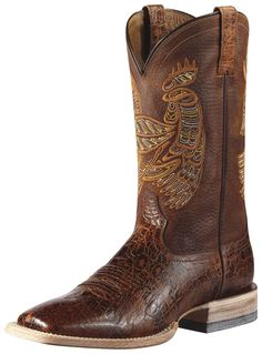 Ariat® Men's Rooster Tail Dust Devil/Adobe Clay Square Toe Boot