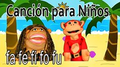 Canción fa fe fi fo fu - El Mono Sílabo - Videos Infantiles - Educación ...