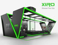 XIRO-UAV Experience Pavilion Design In 2015