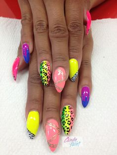 I care for stilleto nails, and these are HOT! Shellac Nails Fall, Manicure, Fabulous Nails, Gorgeous Nails, Diva Nails, Crazy Nails, Pretty Nail Art, Best Acrylic Nails, Cute Nail Designs