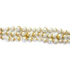 Love this... easy to wear to work and brighten up any outfit. A little glam never does astray. Ariella 3 Strand White Pearl & Matte Gold Bracelet - Pearl + Creek  #bracelet #bangle #pearlbracelet #costumebracelet #fashionbracelet #pearlstrandbracelet #pearlandcreek #fashionjewelry #fashionjewellery