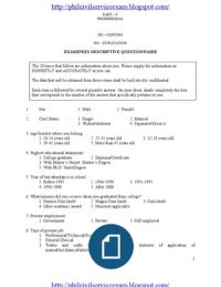 Part I Philippines' Civil Service Professional Reviewer Civil Service Reviewer, Sentence Construction, Exam Answer, Self Assessment, Word Doc, Word Problems, Find A Job, School Projects, Mathematics