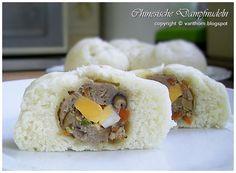 แ ม่ ค รั ว จ อ ม มั่ ว นิ่ ม : ซาลาเปา 3 ไส้: Chinese Steamed Buns