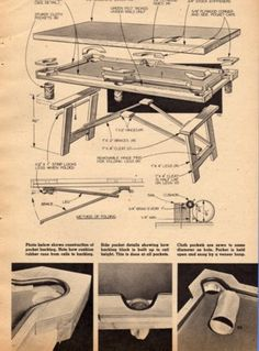 How to build a pool table plans Follow these step by step instructions for making a billiard table you can call your own Building your own pool table is a rewarding project If you have some basic woodworking skills you can build a quality hardwood table This site contains all Pool and snooker table plans with over 100 pages 200 professional drawings Game room Would you like to build everything in your billiard or game room All about building your own pool table and pool table plans May 14…