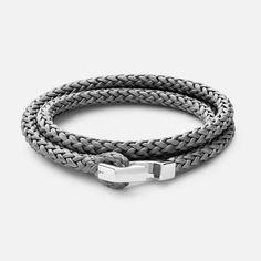 e42c203f4fe2 IPSUM ROPE BRACELET, STERLING-SILVER - BRACELETS - MEN S   MIANSAI Sterling Silver  Bracelets