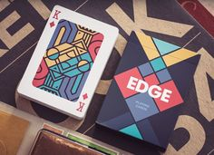 Edge Playing Cards by Creative Mints #design #inspiration #creative #box #cards…
