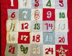 Pillowcases and Shams 124327: New Pottery Barn Kids Crib North Pole Christmas Calendar Pillow Cover -> BUY IT NOW ONLY: $59.95 on eBay!