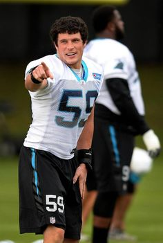 Carolina Panthers linebacker Luke Kuechly on Thursday, November 19, 2015 in Charlotte, NC.