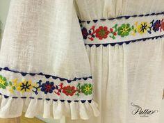 década de 1970 vintage mexicano bordado vestido por pattabrand