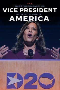 """""""I accept your nomination for Vice President of the United States of American."""" - Kamala Harris Democratic National Convention, Kamala Harris, Vice President, Joe Biden, Everything, Presidents, Politics, United States, American"""