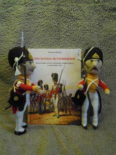 Wollfadengeschöpfe: Königlich-Sächsische Leibgrenadiere von 1813