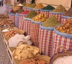 Spice markets Morocco