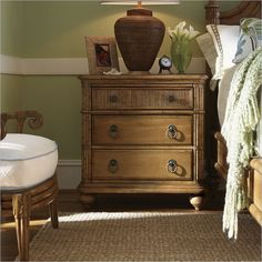 Tommy Bahama Home Beach House Delray Nightstand in Golden Umber - 01-0540-621 - Lowest price online on all Tommy Bahama Home Beach House Delray Nightstand in Golden Umber - 01-0540-621 $899 (see Wayfair)