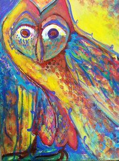 'Egypt Owl' by Whitney Ferre