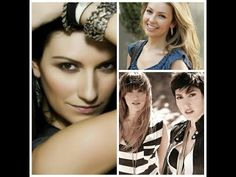 musica romantica: Laura Pausini, Ha-ash y más - YouTube Christina Aguilera, Thalia, Crown, Youtube, Fashion, World, Composers, Places, Moda
