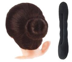 BDS - Taiwan's Famous Hair Bun Sponge Hair Bang Clips (Small) by Bds. $0.58. Small is good for those who have thin hair and require less room for hair to slip in bun sponge.. 1. Tie your hair into a ponytail. 2. Place it into hair sponge. 3. Tighten hair sponge and pull down to perhaps the last quarter of your ponytail. 4. Start rolling the hair sponge up towards the top of your ponytail. 5. Bend the ends of the hair sponge down to secure bun. 6. Move your hair and co...
