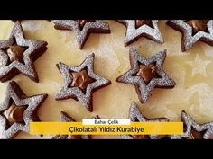 Çikolatalı Yıldız Kurabiye – Bir Dilim Lezzet Scones, Gingerbread Cookies, Donuts, Biscuits, Merry, Flood Insurance, Insurance Companies, Make It Yourself, Desserts