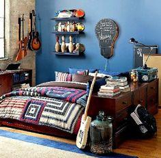 dco de chambre ado moderne - Idee Deco Chambre Ado Vintage