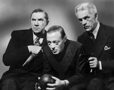 Three great ones... (1940) Bela Lugosi, Peter Lorre, & Boris Karloff
