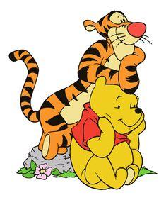 Winnie the Pooh and Tigger on Deviantart