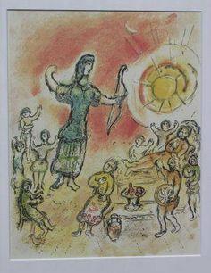 Los salvadoreños verán la 'Odisea Ilustrada' del pintor Marc Chagall | www.culturaclasica.com