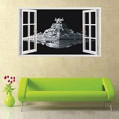 Star Wars wall stickers home decor living room diy art mural decals removable pvc wall sticker for decoration 2016 - $13.99