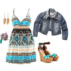 <3, created by marilynq on Polyvore  I like!