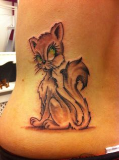 cat tattoo www.cashandglory.nl Amsterdam based tattoo and piercing shop