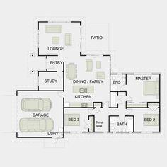 David Reid Homes   FS198 Specifications, House Plans U0026 Images