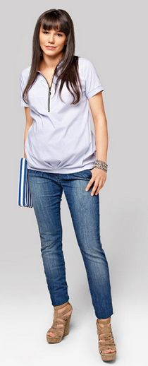 amore jeans Pregnancy Jeans, Maternity Jeans, Tops, Women, Fashion, Moda, Fashion Styles, Fashion Illustrations, Woman