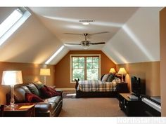 guest room over the garage? yes....