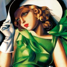 Love this painting by Tamara De Lemicka 1898 shared by @Max Grover...thanks Max