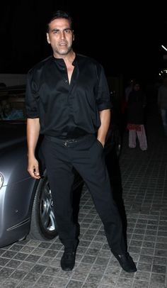 Akshay Kumar at Movie Balak Palak Screeening.