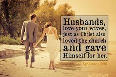 ephesians 5:22-33, husbands and wives