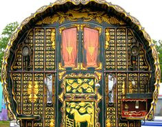 Gypsy Caravan - look at the detailing on this.  It's really remarkable.