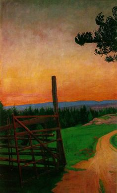 Harald Oskar Sohlberg, Country Road on ArtStack #harald-oskar-sohlberg #art