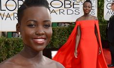 Lupita Nyong'o's Golden Globe caped gown hits stores at a cool $7,000