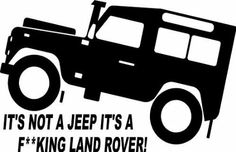 Fun Land Rover Defender Off Road Sticker Landrover Defender, Td5 Defender, Land Rover Defender 110, Landrover Series, Land Rover Td5, Land Rovers, Hummer, Land Rover Models, Jeeps